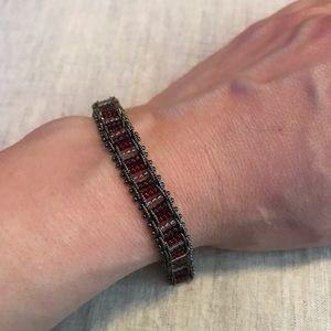 Jewelry - Bike chain style beaded bracelet